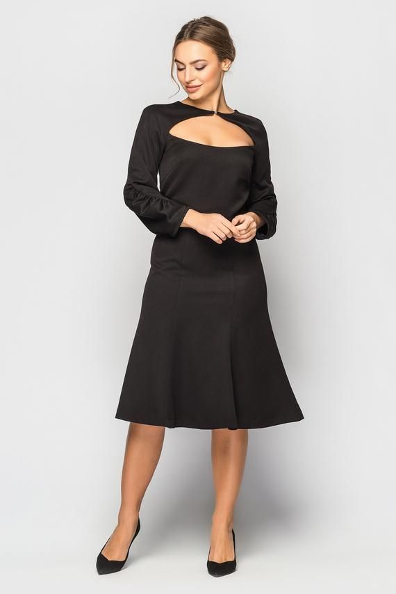 Pin By Raanaz Pasandideh On Dress Black Cocktail Dress Short Black Cocktail Dress Cocktail Dresses With Sleeves