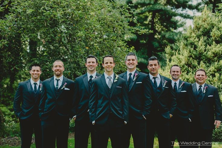 Relaxed groomsmen portrait - by Gaby Fuentes, New Jersey wedding photographer