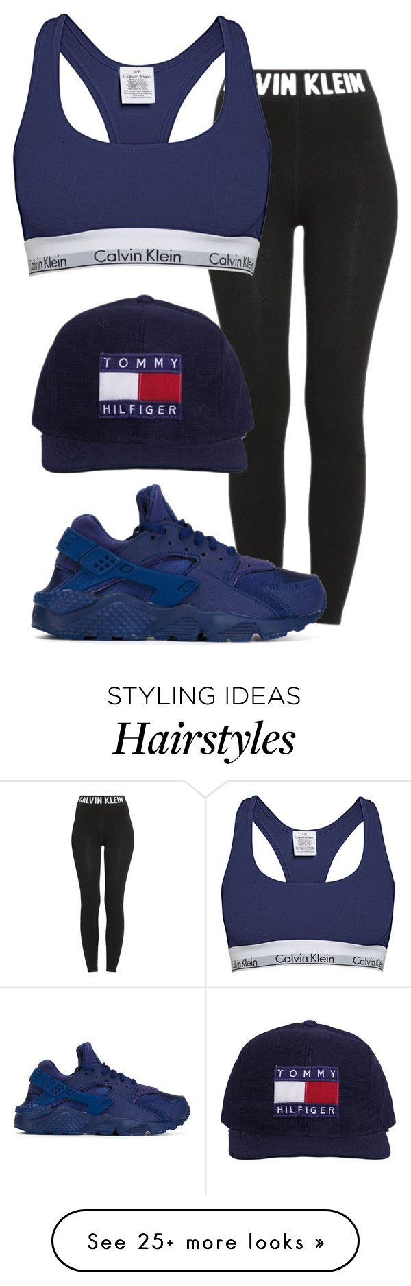"""*flips hair*"" by miyaaonfleek02 on Polyvore featuring Calvin Klein and NIKE"