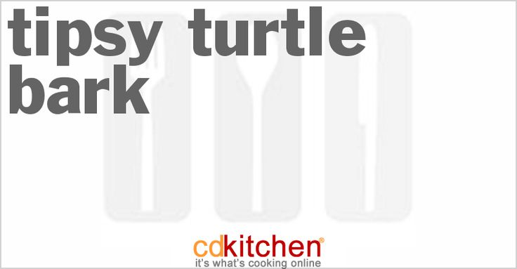 Tipsy Turtle Bark from CDKitchen.com
