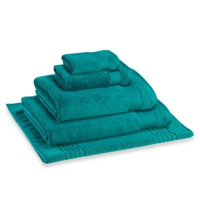 Microdry® Bath Towel - BedBathandBeyond.com bath and hand towels in Dark Blue, Aqua, or deep red, at least 2 per - 4 would be better.