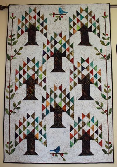 Line Art Quilt Kit : Images about tree of life or pine quilts on