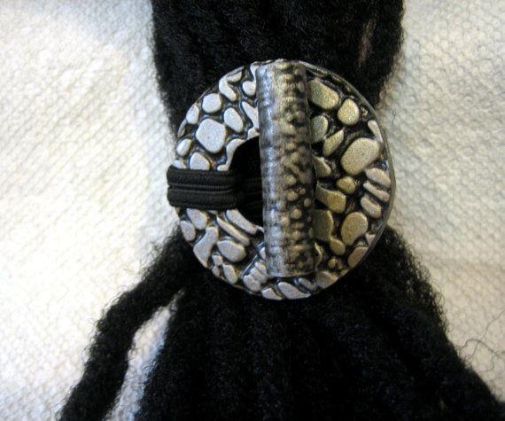 Dreadlocks haar stropdas of paardenstaart houder voor