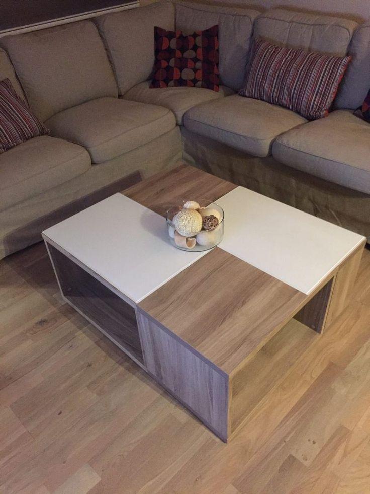 cool bonjour voici ma ralisation duune table de salon avec des meubles besta with table. Black Bedroom Furniture Sets. Home Design Ideas