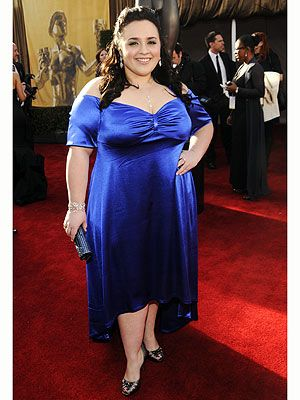 """Nikki Blonsky wants to make one thing clear: Curvy girls are fashionable too! """"People think that we're left out in the cold, we're not,"""" says Blonsky, a proud size 14."""