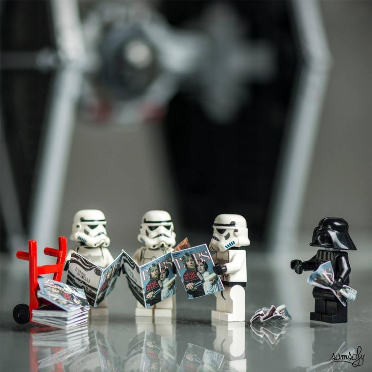 El francés Samsofy es fotógrafo de Lego desde 2008, su trabajo consiste en crear los escenarios y las diferentes aventuras, muchas veces inspiradas en películas, de los diferentes personajes de Lego. Foto: en Facebook: Samsofy