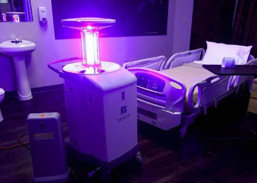 South Carolina Physician to Combat Ebola in Liberia with Disinfecting Robots  August 20, 2014