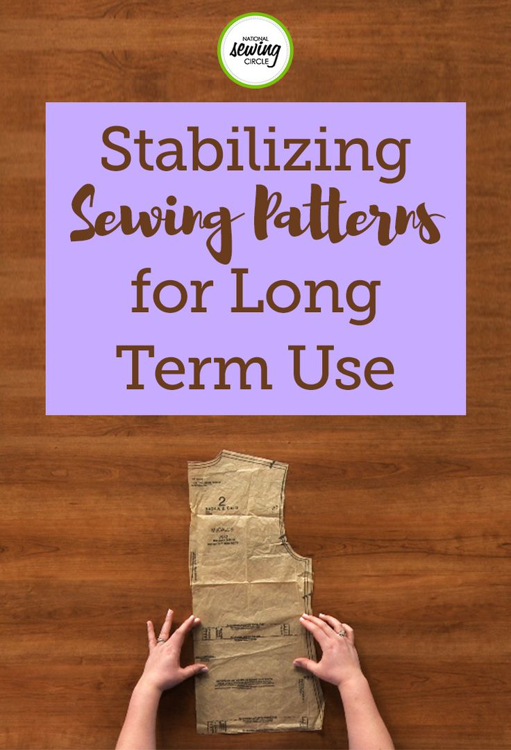 If you have a pattern that you love to use over and over again, this quick tip is for you. Jessica Giardino tells us how we can stabilize our favorite sewing patterns so that they will stay around for a long time. Jessica gives us two quick options for stabilizing patterns in this sewing tutorial.