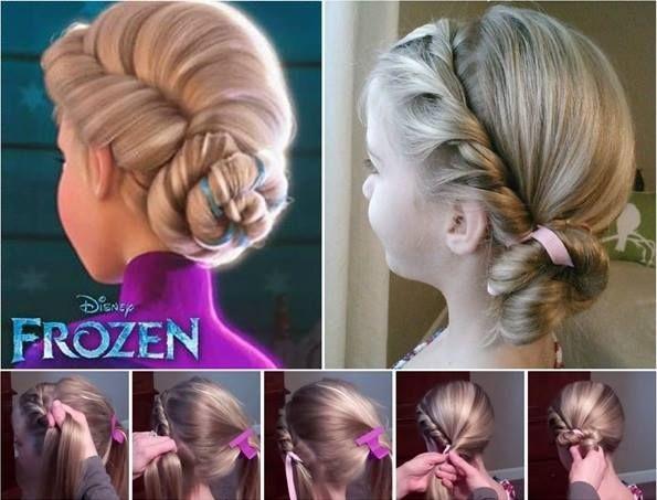 frozen,Elsa's hair