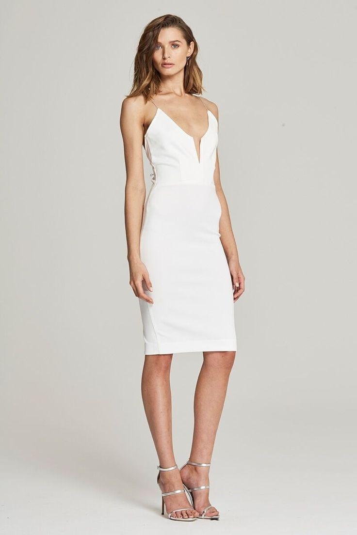 Maurie & Eve - Dance Tonight Dress White