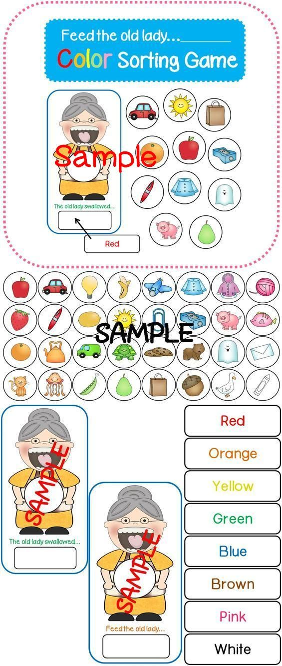 Old Lady Swallowed a...Color (Color Sorting Game)