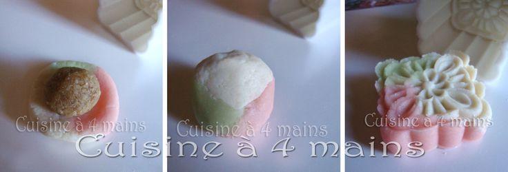 Le mooncake, gâteau de Lune, est un petit gâteau chinois rond ou carré, traditionnellementdégustélors desfestivitésde la mi automne , il est symbole de retrouvailles,d'échanges amicaux …
