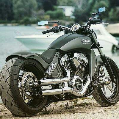 Custom Indian Scout                                                       …  Can I say wow?