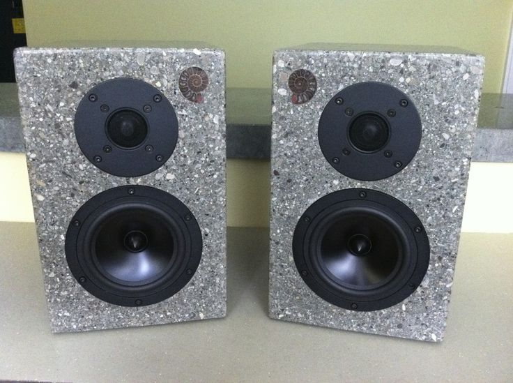 Concrete Speakers – Project