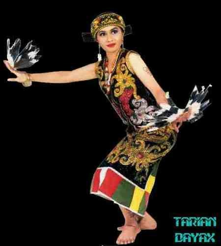 Dayak Traditional Dance --(Indonesia)