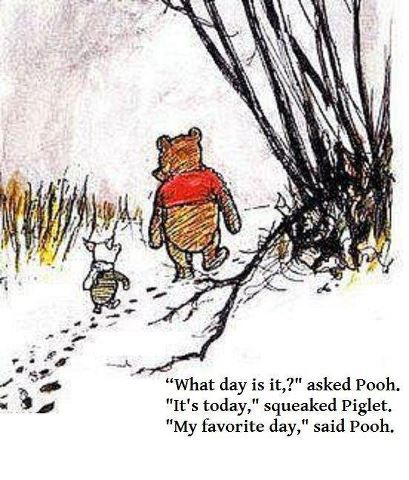 I need to be a Pooh! :))