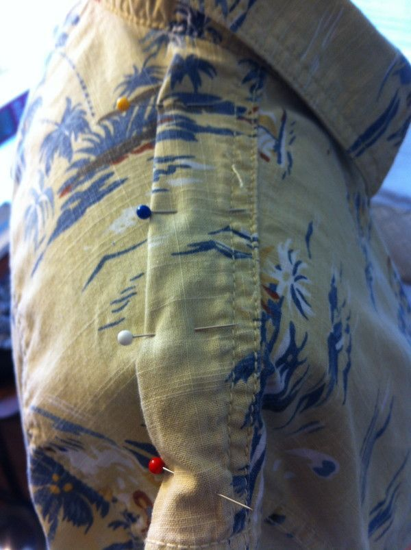 A blog with lots of clothing upcycles.