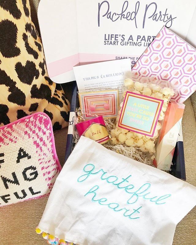 @carolinegillem Got Us The Thanks X Million Packed Party As Baby Shower  Hostess Gifts And Iu0027m So Obsessed With It!