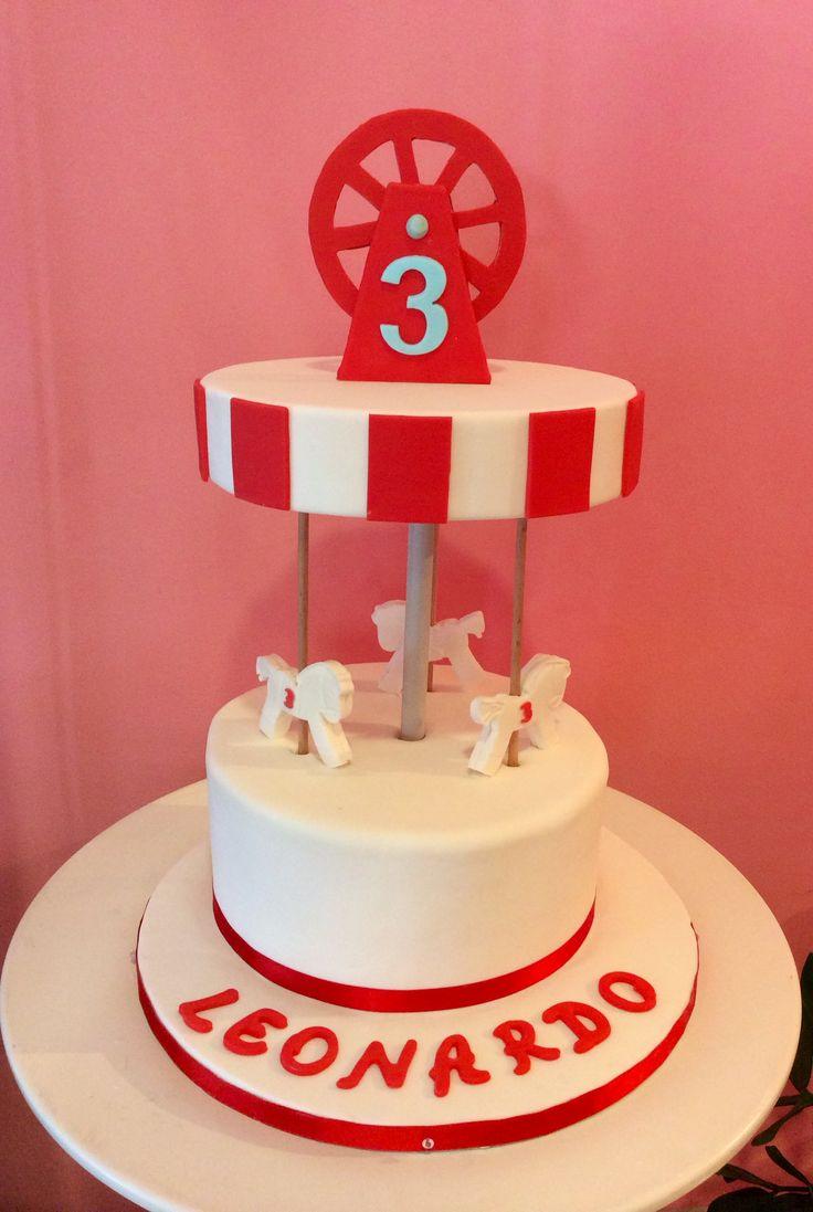 #compleanno #bambini #cakedesign #tortestorte #torte #cake #giostra