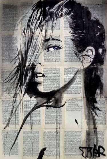"Saatchi Art Artist Loui Jover; Drawing, ""now or never"" #art"