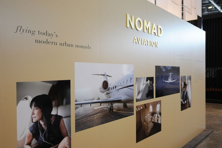 Ebace Palexpo Exhibition Stand – Nomad Aviation