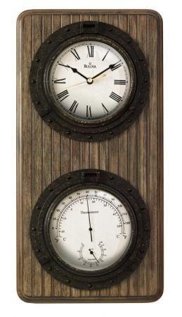 Found it at Clockway.com - Bulova Wall Clock