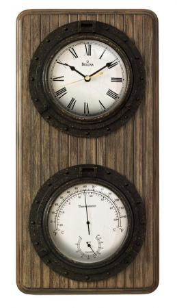 Found it at Clockway.com - Bulova Wall Clock