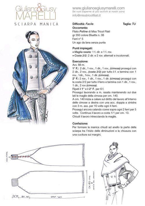 LA SCIARPA MANICA L'idea originale del nostro tutorial parte da una semplicissima SCIARPA, per trasformarsi in una comoda MANICA da indossare sul blazer o, con le dovute proporzioni, sul cappotto da rinfrescare con il colore moda. Vi piace?