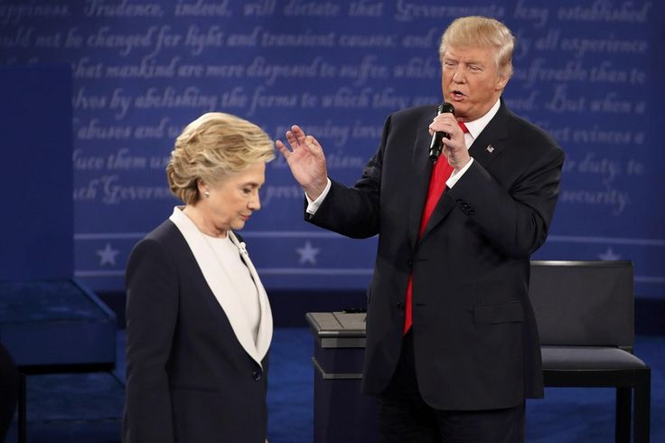 Hillary Clinton vs Donald Trump debate 2 review and fact checker - https://movietvtechgeeks.com/hillary-clinton-vs-donald-trump-debate-2-review-fact-checker/-Last night, the two presidential nominees (Hillary Clinton and Donald Trump) vying for the top leadership spot in our country did something during the second debate that I for one am flabbergasted by – wasted the American people's time.