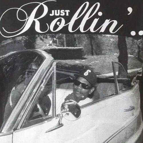 Just rollin'     #eazye  #eminem #50cent  #tupac #2pac #album #westcoast #rap #icecube #snoopdogg #DMX #drdre #hiphop #TLC #beatsbydre #NWA #biggie #boyznthehood #song #Aaliyah  #llcoolj #mcren #yella #westside #thuglife #lilkim #bigL #missyelliott #thenotoriousbiggie #puffdiddy by hiphopmusic2