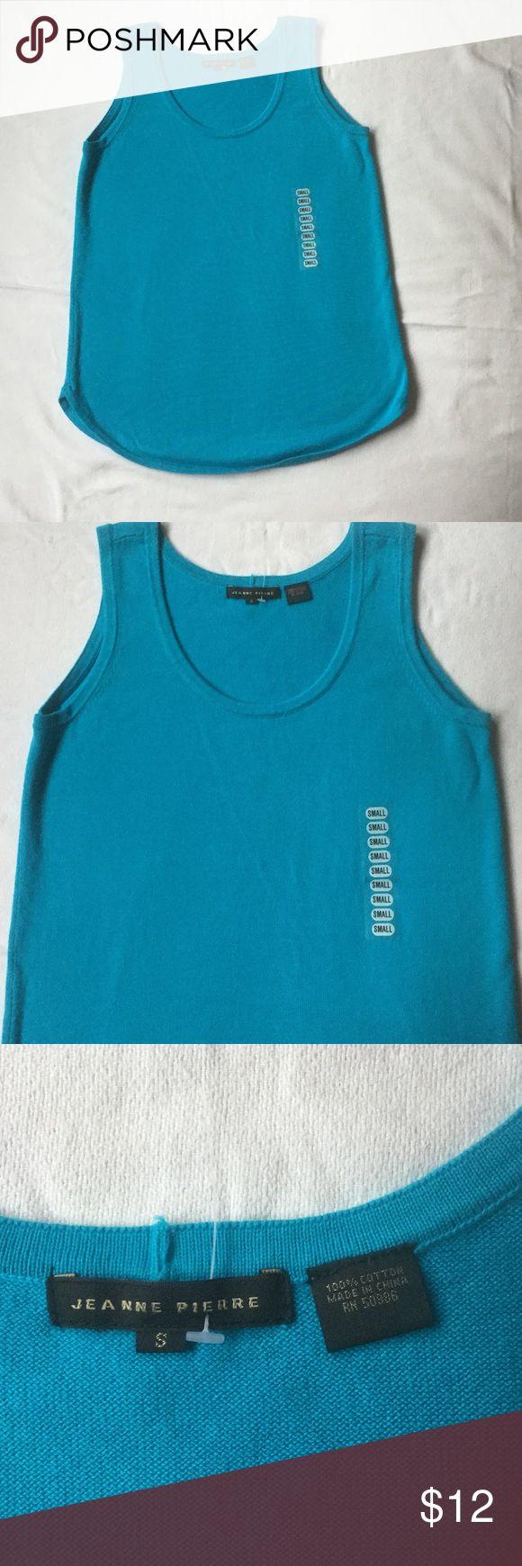 Jeanne Pierre Top New size S 100% cotton Top. Offers welcome Jeanne Pierre Tops