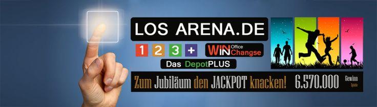 Los Arena sucht Europas Multimillionär von 90 Millionen EuroJackPot... - Spiel ohne Grenzen