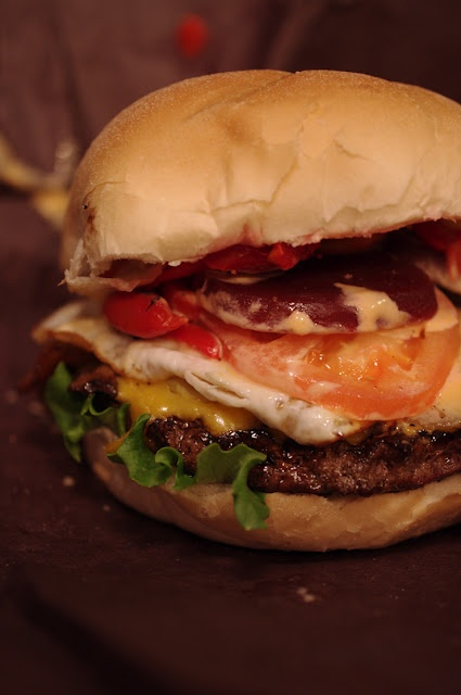 Aussie burger - most delicious burger of life