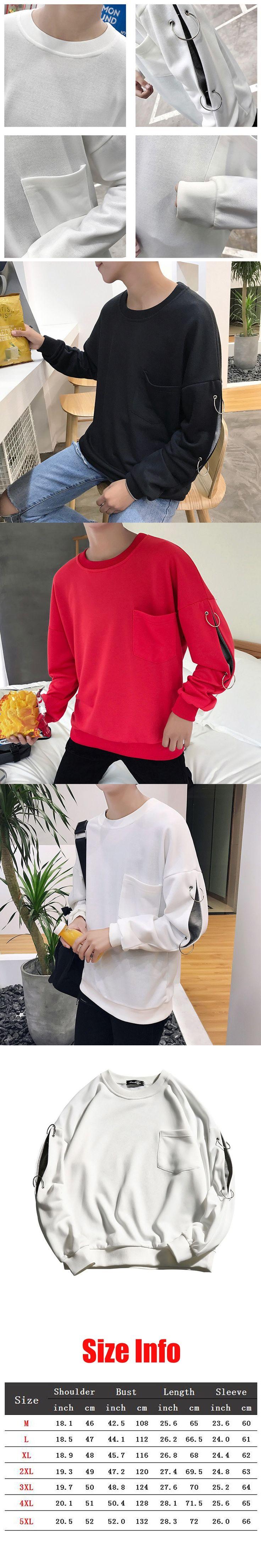 TELUNDANNI 2017 Red O-neck Casual Hoodies Men Hip Hop Clothing Fashion Pocket Sweatshirts Skateboard Pullover