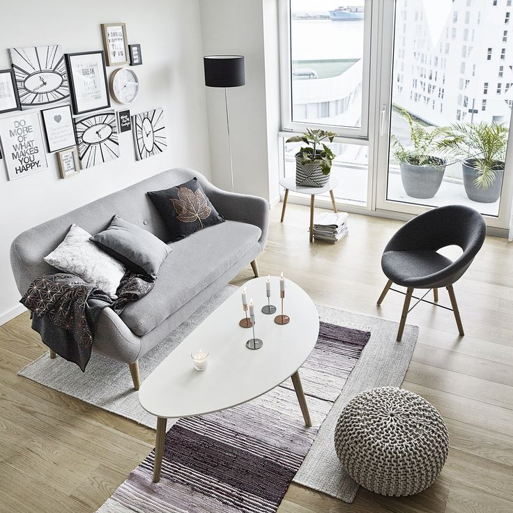Scandinavian Living For Less. Create An Open And Bright Living Room With  The Right Combination Part 79