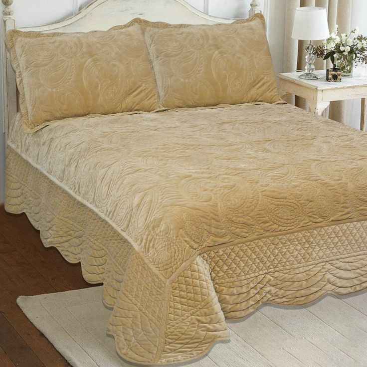 Gorgeous Deep Velvet Finely Stitched Luxury Quilted