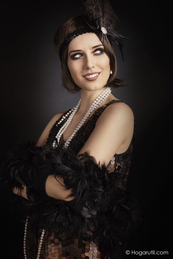 Look disfraz bailarina de Charleston - Ejemplo