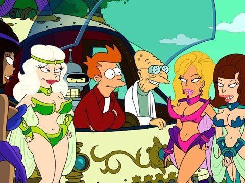 Futurama Full Episode Season 5 Episode 4 Bender's Big Score