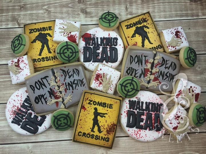 Walking Dead cookies
