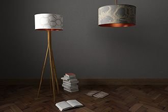 Drum Lampshades - Mockbee & Co. www.pattersnap.com