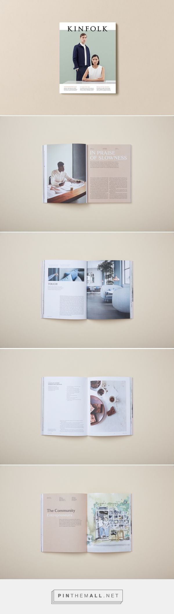 "Kinfolk Magazine, Issue 15 ""The Entrepreneurs Issue"" More"