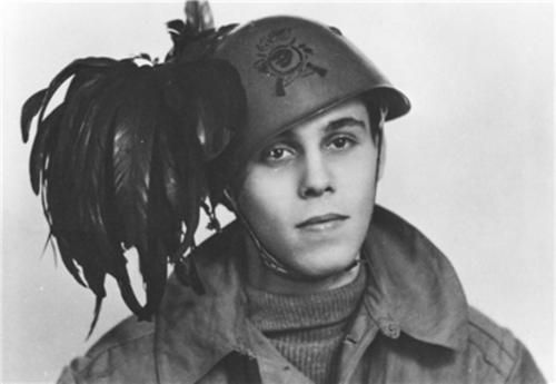 Young soldier of the Bersaglieri corps, italy 1944