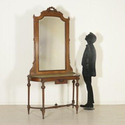 Consolle Liberty con specchio