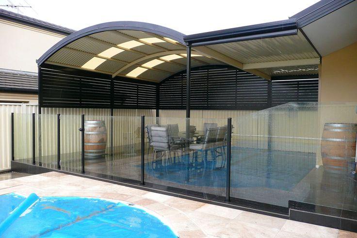 semi frameless glass pool fencing in Sydney