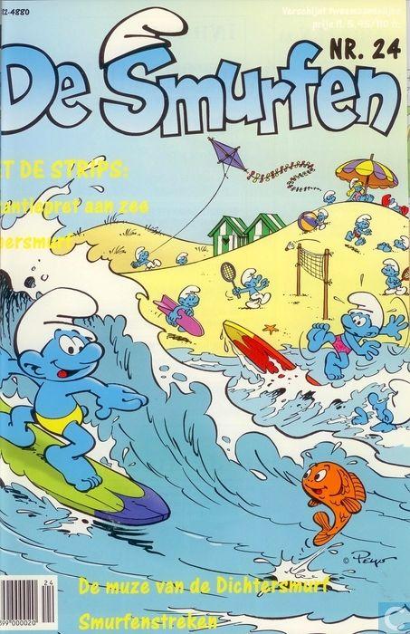Strips - Smurfen [1995-2000], De (tijdschrift) - De Smurfen