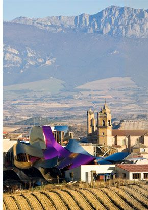 Marques de Riscal winery and hotel by  Frank Gehry | Review by Spot Cool Stuff: Travel