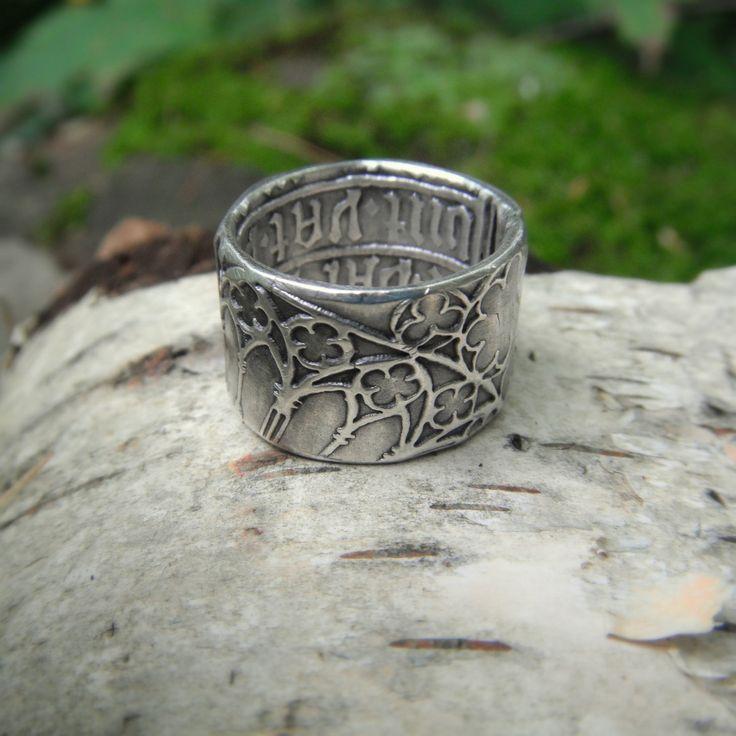 Cathedral Ring Medieval Ring Renaissance Wedding Band Artisan