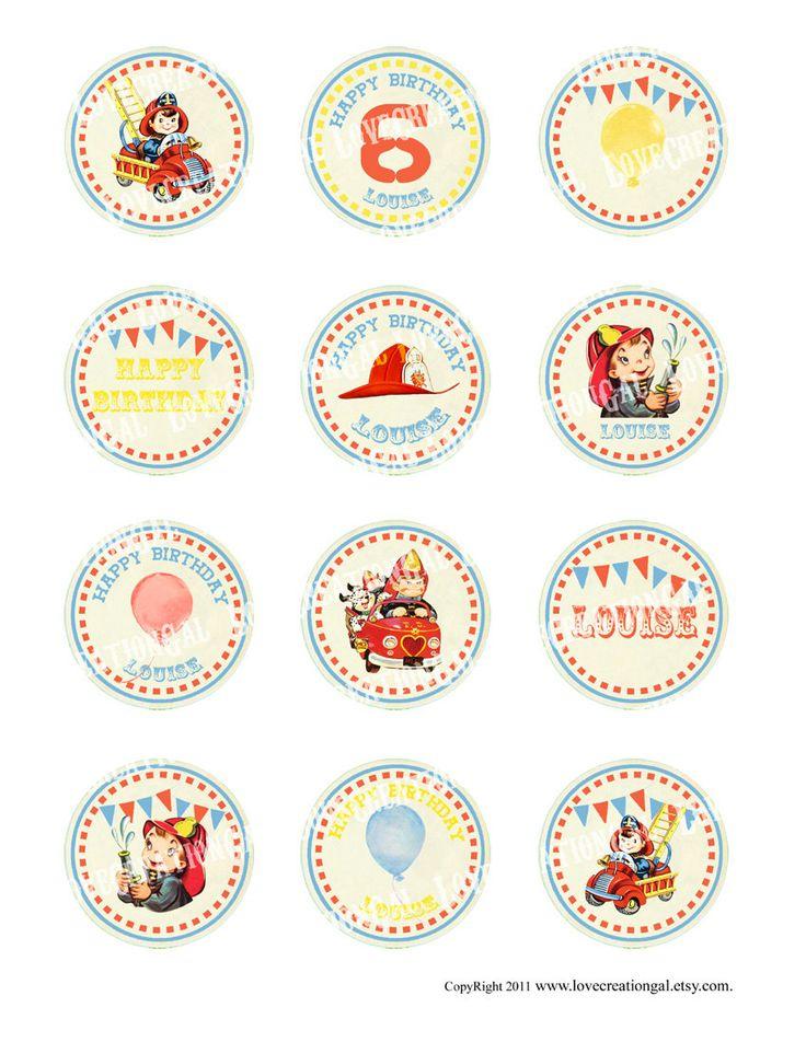 14 best Fireman Birthday images on Pinterest Fireman birthday