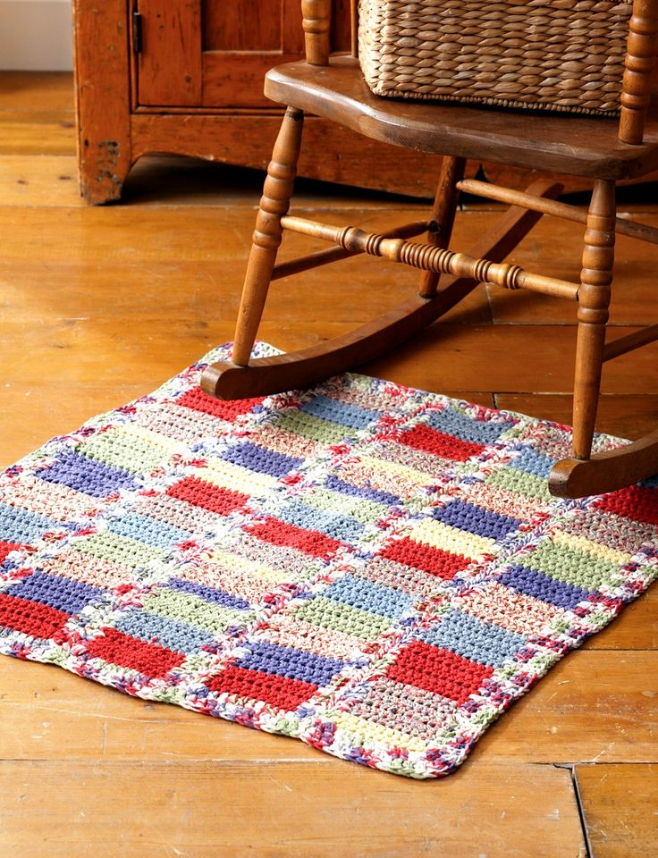 Yarnspirations.com - Bernat Country Rug - Patterns  | Yarnspirations