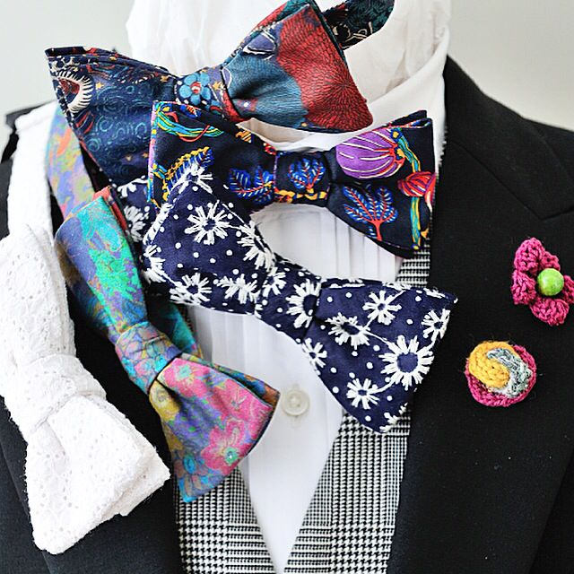 オリジナルの蝶ネクタイコレクション。 ライフスタイルオーダーでのみ購入可能。  #蝶ネクタイ#bowtie